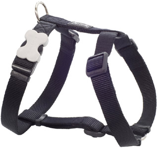 Harness Plain - Black Large