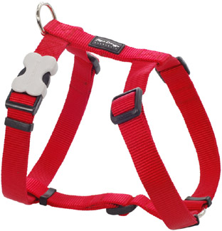 Harness Plain - Red Large
