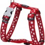 Harness White Spots on Red Large