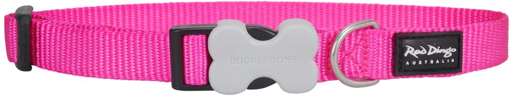 Hondenhalsband fel roze