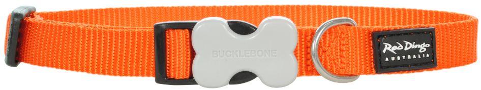 Hondenhalsband oranje
