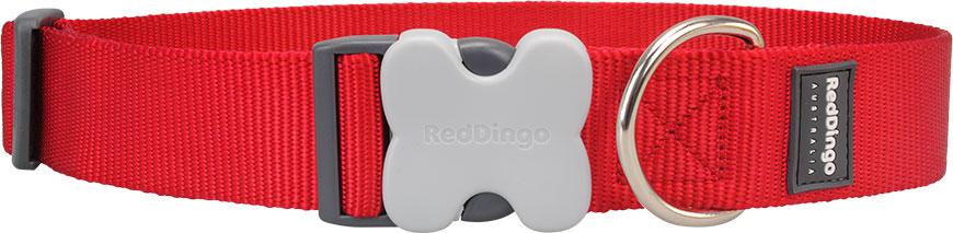 Hondenhalsband rood extra breed
