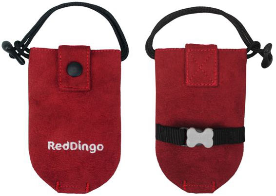 Poepzakhouder rood Red Dingo