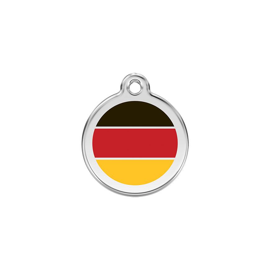 Hondenpenning Duitse vlag