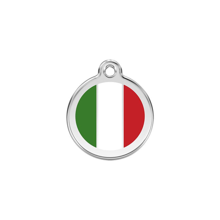 Hondenpenning Italiaanse vlag